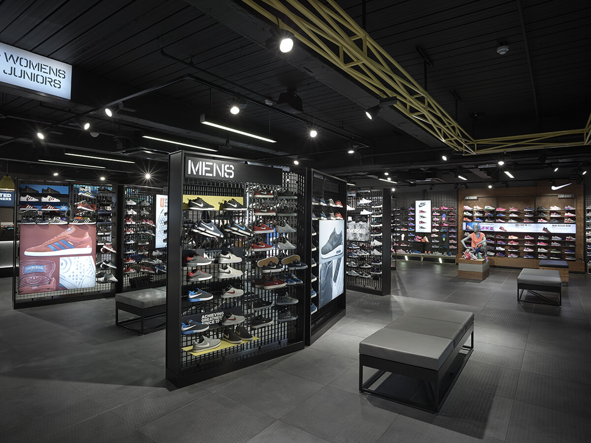 Jd Sports Flagship Store Trafford Centre Manchester Roc