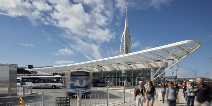 Top Award for civil engineering at the ICE South East England Awards for the Hard Interchange