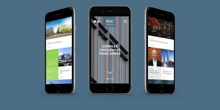 Our mobile friendly website!
