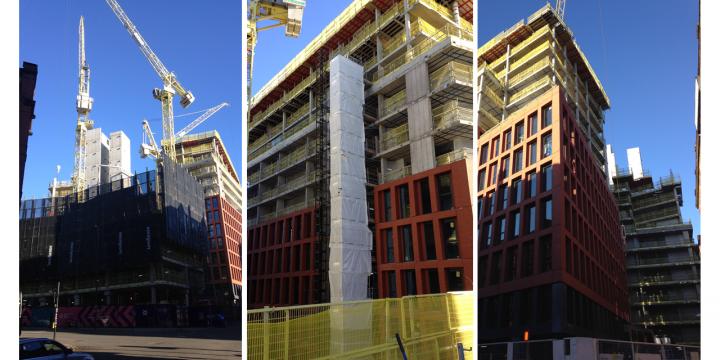 Manchester New Square making good progress!