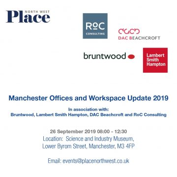 RoC sponsors of Place NW Manchester Offices and Workspace