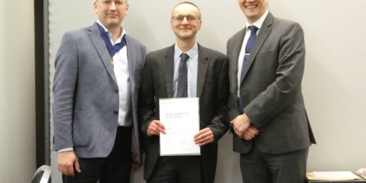 Another award from IStructE -  Regional Group Prize 2019